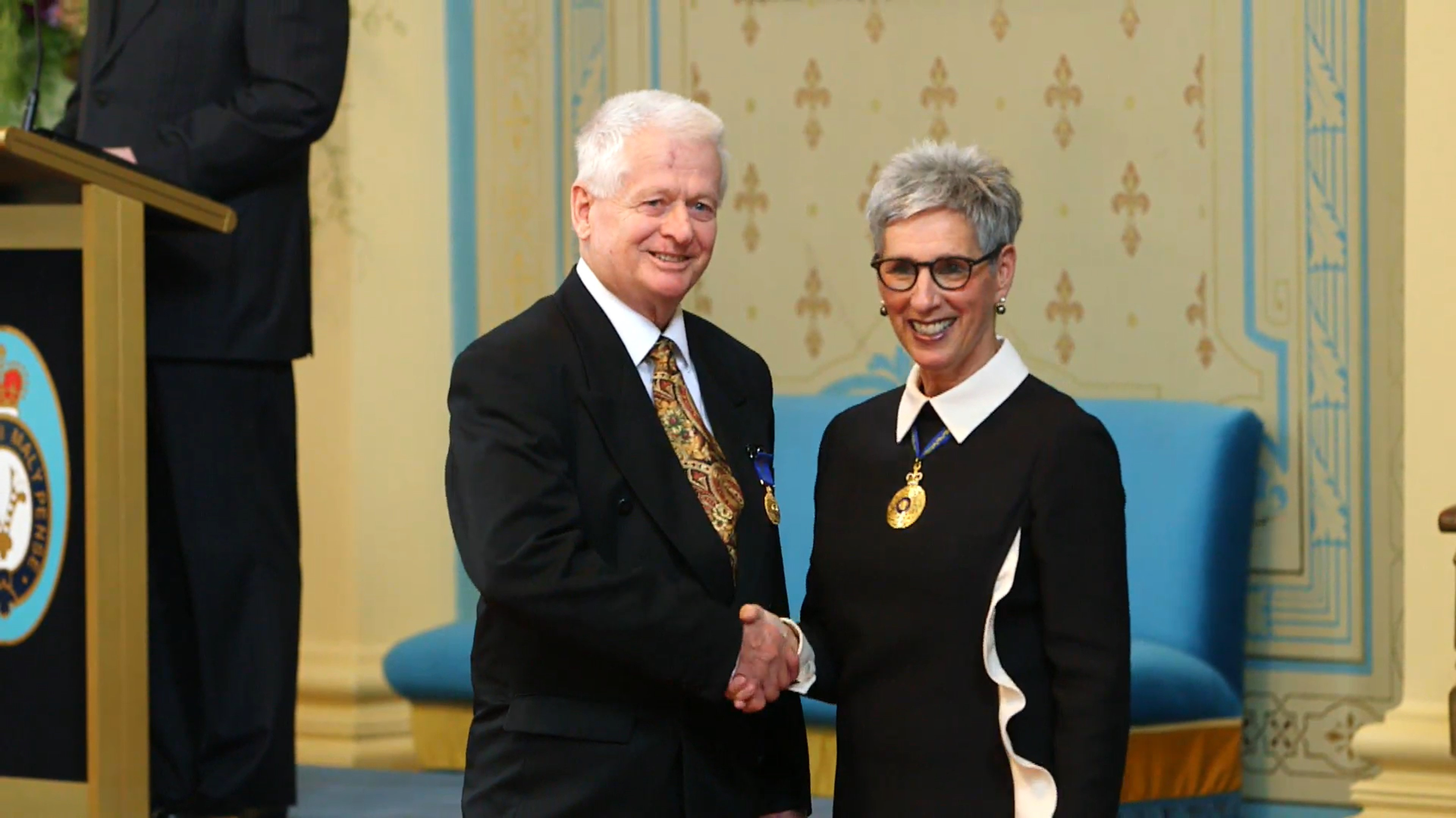 Jo Chitty received OAM from the Governor –  April 2018