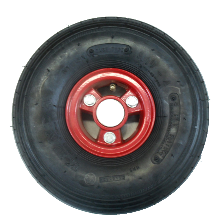 Front wheel without bearings Image